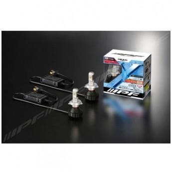 LED konvertering IPF H4 LED 6500K 24W LED konverteringskit fläktlös 12V