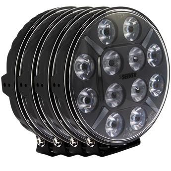 4-PACK SEEKER 12X 120W LED extraljus