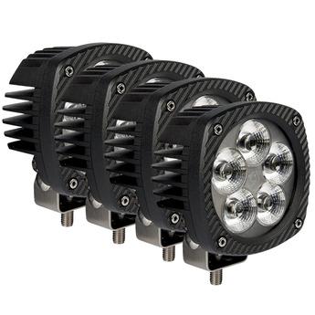4-PACK LED arbetsbelysning 50W Bullpro XL