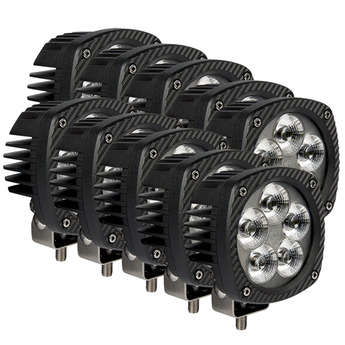 10-PACK LED arbetsbelysning 50W Bullpro XL