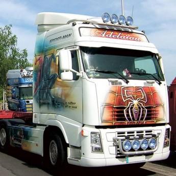 EZ-Light Volvo FH-FM, Fordonsbåge Lastbil