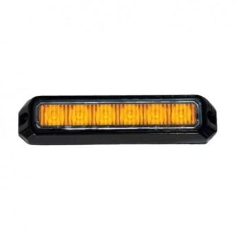 LED Blixtljus Helix 6LED, Varningsljus, ECE-R65 Godkänd