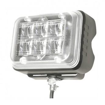 LED Blixtljus Helix 6LED HD Wide, Varningsljus, ECE-R65 Godkänd