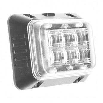 LED Blixtljus Helix 6LED HDP Wide, Varningsljus, ECE-R65 Godkänd