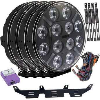 4-PACK SEEKER 12X 120W LED extraljus paket till Canbus