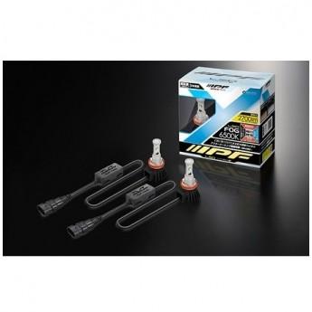 LED konvertering IPF H8 / H9 / H11 / H16 / H27 6500K 12W LED konverteringskit 12V