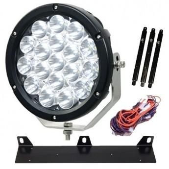 LED extraljus 3-PACK Dominator Ultra 90W + EXTRALJUSKIT