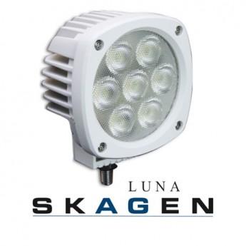 Båtstrålkastare Skagen Luna 35W, Vit båtbelysning