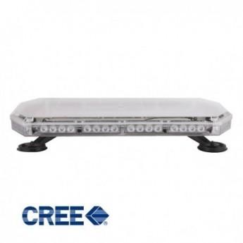 LED Blixtljusramp Standard 595 mm ECER65 gult sken