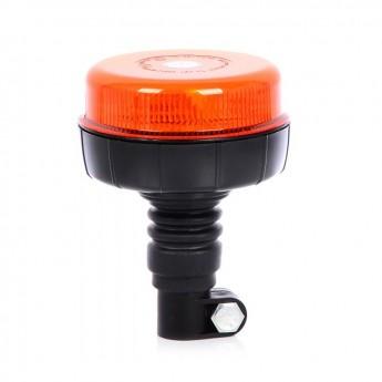 LED varningsljus Supervision F36, ECE-R65 godkänd saftblandare, Flexi Din montering