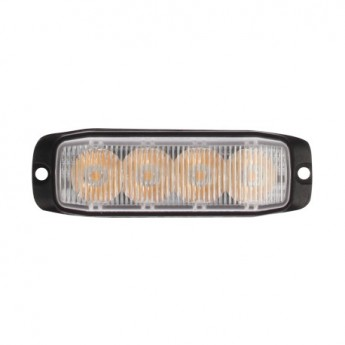 LED blixtljus varningsljus Supervision 4LED slim