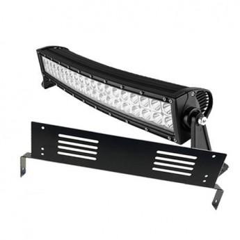 Extraljushallare LED ramp 2-fästen