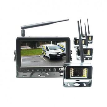 Backkamerasystem 7-tumsskärm K4