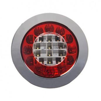 Baklampa 24 LED 10-30V till Lastbil & Släpvagn