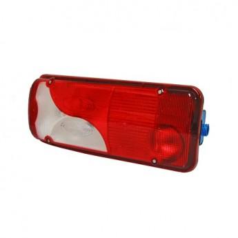 LED bakljus Scania 400 mm, 7-kammars, Vänster