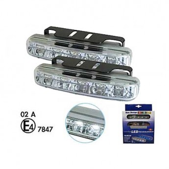 Varselljus DRL 5LED