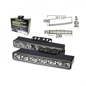 Varselljus DRL 6LED RL