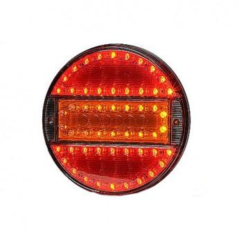 LED bakljus Positionsljus, bromsljus, blinkersljus, Spegelglas till Lastbil & Släpvagn