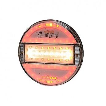 LED bakljus Klart glas, backnings- och dimljus