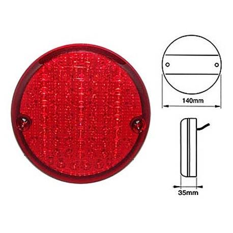 LED bakljus Bromsljus, Reflektor