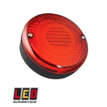 LED bakdimljus, Ytmontering, Röd till Lastbil & Släpvagn