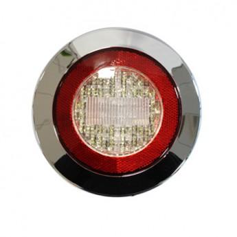 LED backningsljus, Krom till Lastbil & Släpvagn