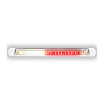 LED backningsljus, Dimljus, Klar lins