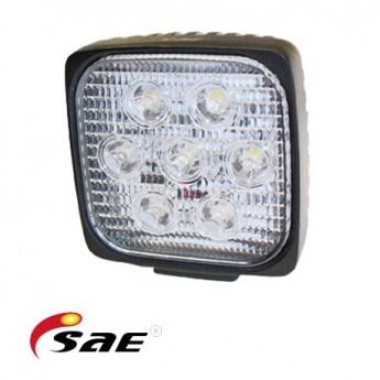6-PACK SAE SQ 35W LED arbetsbelysning paket, Kvadratisk
