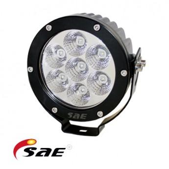 6-PACK SAE RD 35W LED arbetsbelysning paket, Rund