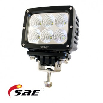 6-PACK LED arbetsbelysning SAE 60W Heavy Duty paket