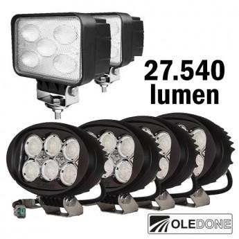LED arbetsbelysning Stora paketet
