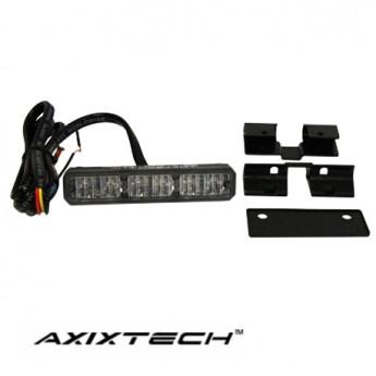 LED Blixtljus Axixtech 6LED, ECE-R65 Godkänd