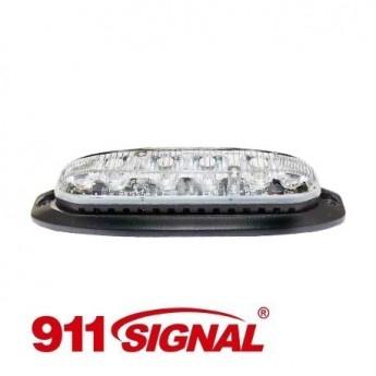 LED Blixtljus 911 Signal X6, ECE-R65 Godkänd
