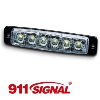 LED Blixtljus 911 Signal F6 SLIM, ECE-R65 Godkänd