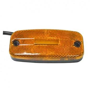 LED-markörljus med reflex, Positionsljus, Gul