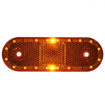 LED-markörljus med reflex CL, Positionsljus, Gul
