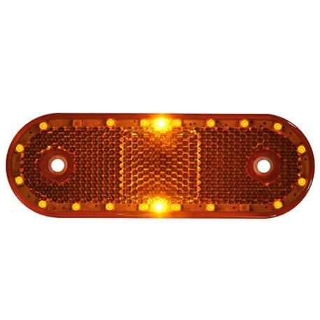 LED-markörljus med reflex CL, Gul
