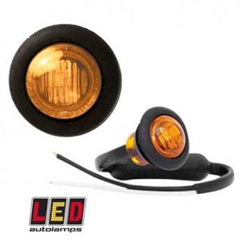 LED-markörljus Autolamps RD, Positionsljus, Gul