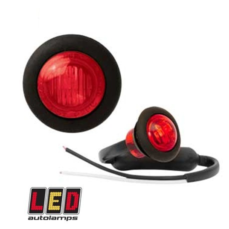 LED-markörljus Autolamps RD, Röd