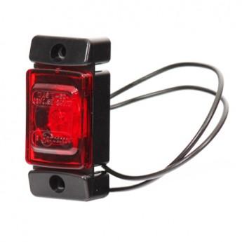 Bakre LED-positionsljus WAS, Röd