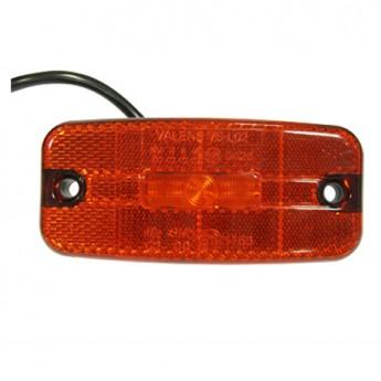 LED-markörljus 5LED med reflex, Röd
