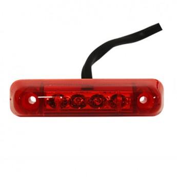LED-MARKÖRLJUS JOKON 4LED, Positionsljus, Röd