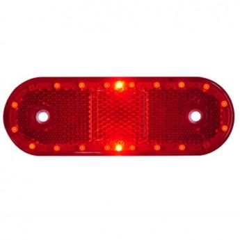 LED-markörljus med reflex CL, Röd