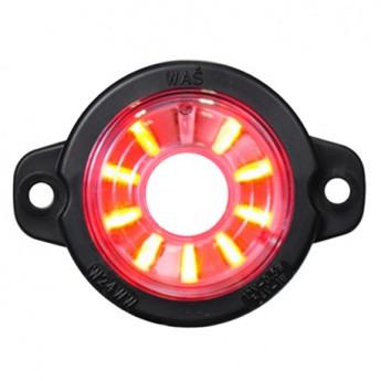 LED-markörljus WAS, Positionsljus, SF Röd