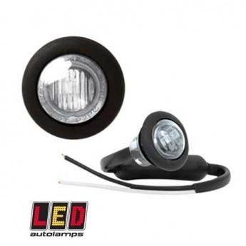 LED-markörljus Autolamps RD, Positionsljus, Vit