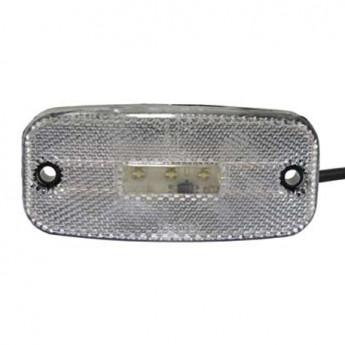 LED-markörljus 5LED med reflex, Vit