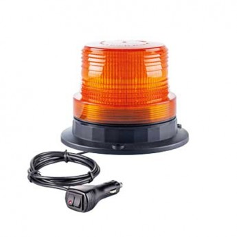 LED Varningsljus Supervision 4LED, Tak montering, Magnet, ECER-65 Godkänd