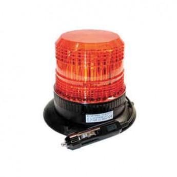 LED VARNINGSLJUS SUPERVISION 6LED RF, Magnetfäste, ECE-R65 godkänd