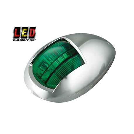 LED Autolamps lanterna, Krom