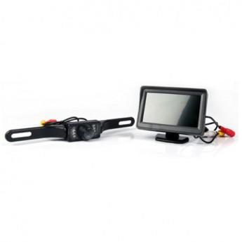Backkamerasystem 4,3-tumsskärm CK1-L